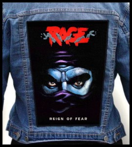 RAGE - Reign Of Fear -- Backpatch
