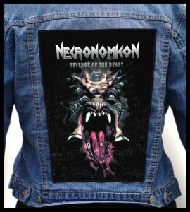 NECRONOMICON - Revenge of the Beast -- Backpatch