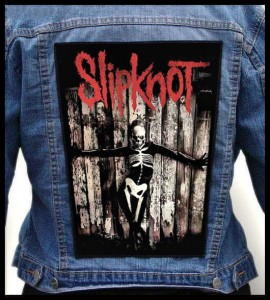 SLIPKNOT - .5 The Gray Chapter -- Backpatch