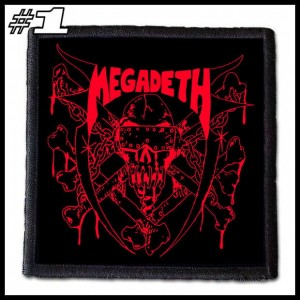 MEGADETH -- Patch
