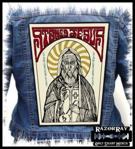 STONED JESUS - Saint -- Backpatch