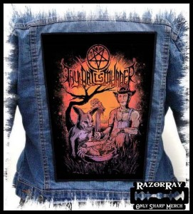 THY ART IS MURDER - Cannibal -- Backpatch
