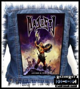 MAJESTY - Sword & Sorcery  -- Backpatch