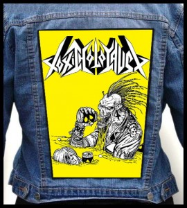 TOXIC HOLOCAUST - Punk -- Backpatch