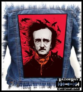 EDGAR ALLAN POE - Black Cat -- Backpatch