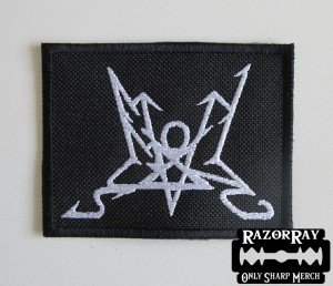SUMMONING [white] -- Embroidered Patch