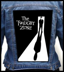 THE TWILIGHT ZONE -- Backpatch