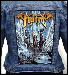 DRAGONFORCE - Valley of the Damned -- Backpatch