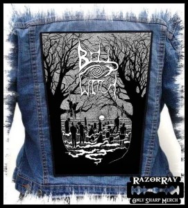 BELL WITCH - Graveyard -- Backpatch