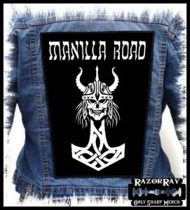 MANILLA ROAD - Viking  -- Backpatch