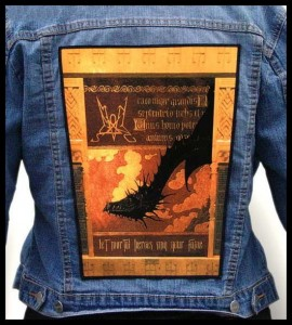 SUMMONING - Let Mortal Heroes Sing Your Fame -- Backpatch