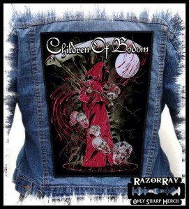 CHILDREN OF BODOM - Heads  -- Backpatch