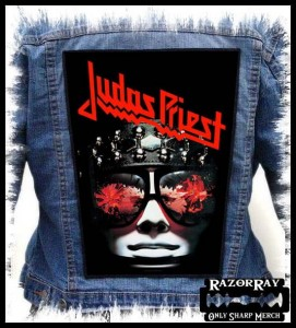 JUDAS PRIEST - Hell Bent for Leather  -- Backpatch