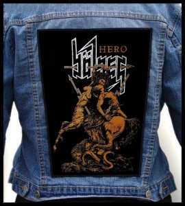BOLZER - Hero -- Backpatch