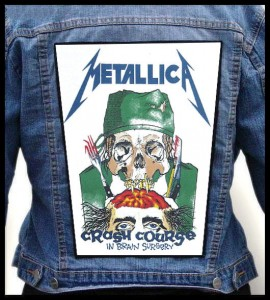 METALLICA - Crash Course -- Backpatch