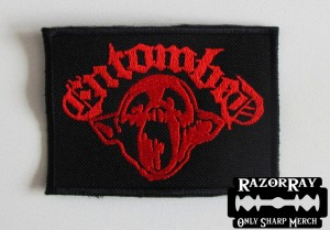 ENTOMBED [red] -- Embroidered Patch