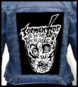 TORMENTOR - The 7th Day of the Doom -- Backpatch