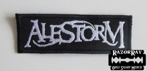 ALESTORM [white] -- Embroidered Patch