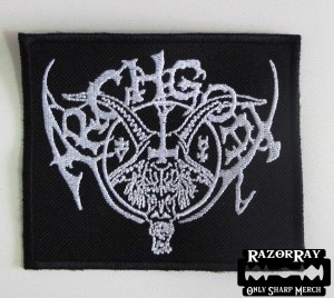 ARCHGOAT [white] -- Embroidered Patch