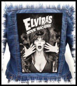 ELVIRA - Movie Macabre -- Backpatch