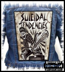 SUICIDAL TENDENCES - Let's Make Some Noise -- Backpatch