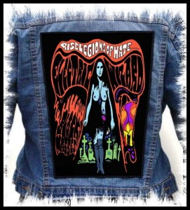 ELECTRIC WIZARD - Rise Legions Of Hate... -- Backpatch