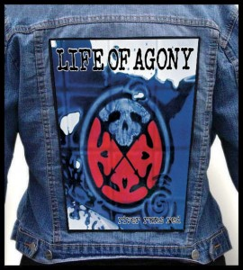 LIFE OF AGONY - River Runs Red -- Backpatch