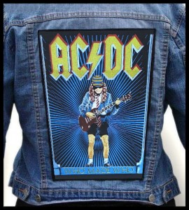 AC/DC - Who Made Who -- Backpatch
