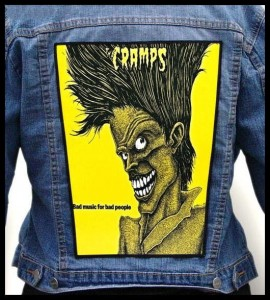 THE CRAMPS - Bad Music for Bad People -- Backpatch