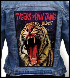 TYGERS OF PAN TANG - Wild Cat -- Backpatch