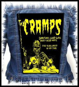 THE CRAMPS - Sometimes Good Guys... -- Backpatch