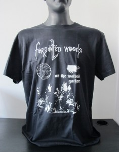 T-shirt FORGOTTEN WOODS - As the Wolves Gather