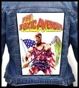 THE TOXIC AVENGER -- Backpatch