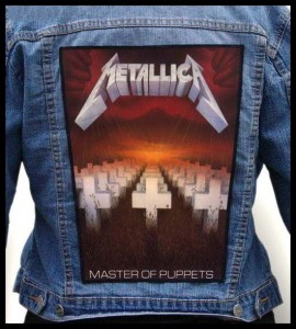 METALLICA - Master of Puppets -- Backpatch