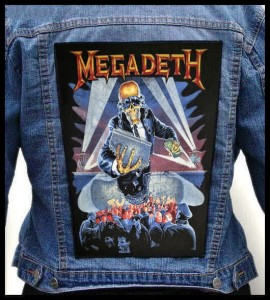 MEGADETH - Berlin Wall -- Backpatch