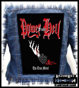 POWER FROM HELL - The True Metal  -- Backpatch