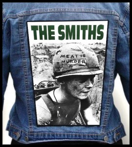 THE SMITHS - Meat Is Murder -- Backpatch