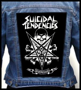 SUICIDAL TENDENCIES - Possessed -- Backpatch
