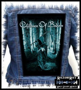 CHILDREN OF BODOM - Reaper  -- Backpatch