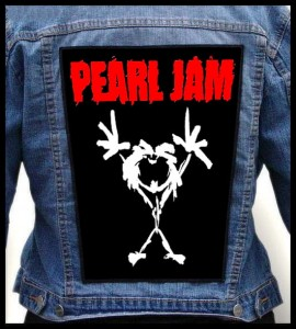 PEARL JAM - Alive -- Backpatch