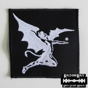 BLACK SABBATH - Angel [white] -- Embroidered Patch