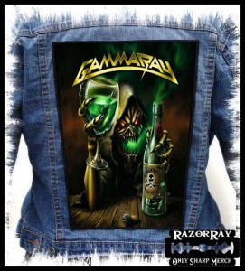 GAMMA RAY - Let's drink with me ! -- Backpatch
