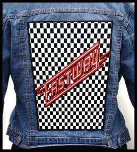 FASTWAY - Fastway -- Backpatch