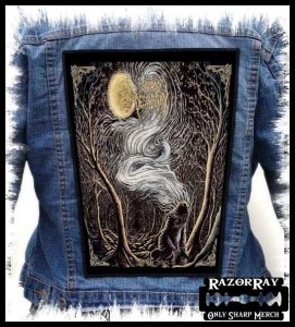 WOODS OF DESOLATION - As the Stars -- Backpatch