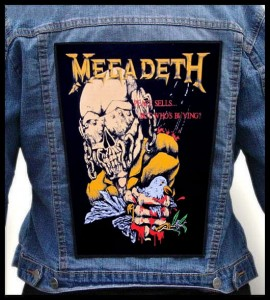MEGADETH - Peace Sells.... -- Backpatch