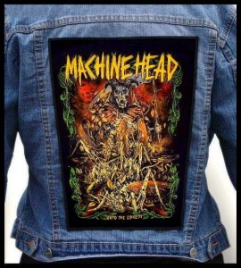MACHINE HEAD - Into The Locust -- Backpatch