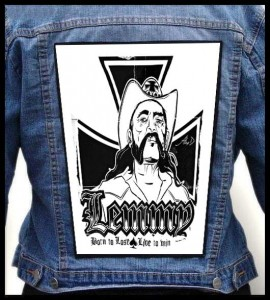 Ekran LEMMY KILMISTER - Born To Lose, Live To Win