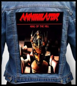 ANNIHILATOR - King of the Kill -- Backpatch