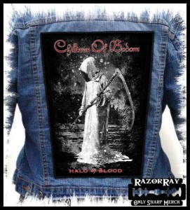 CHILDREN OF BODOM - Halo Of Blood -- Backpatch