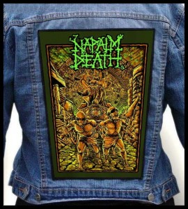 NAPALM DEATH - Slaves -- Backpatch